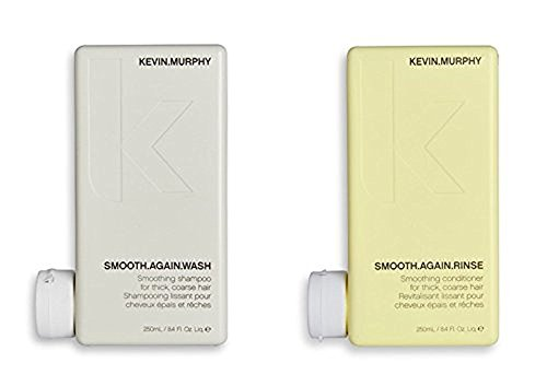 - Kevin Murphy Smooth Again Wash and Rinse combo set 250 ml/8.45 Fl Oz Liq. each New Product!