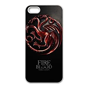 Fire Blood Stylish High Quality Comstom Protective case cover For iPhone 5S
