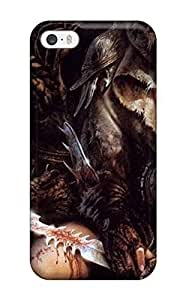 New Cute Funny Beautiful Girl With A Sword Case Cover/ Iphone 5/5s Case Cover
