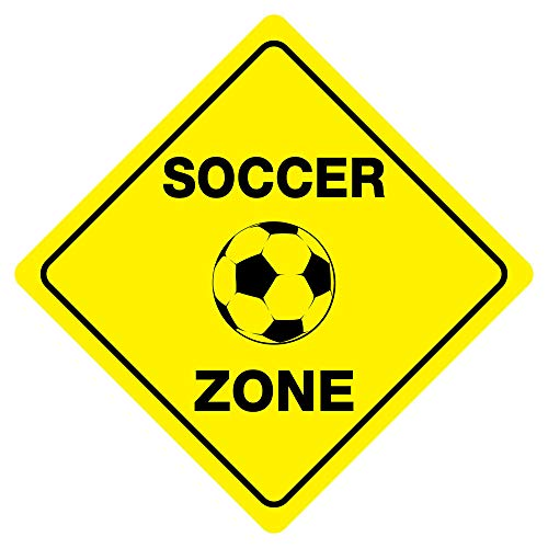 Tamengi Soccer Zone Funny Novelty Xing -