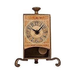 New Haven Brass Antique Table Pendulum Clock