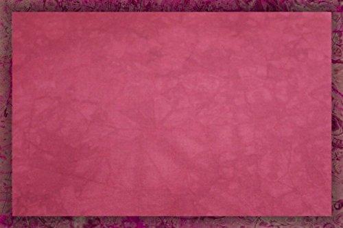 Hand-dyed 18 Count Aida Cloth (DMC/Charles Craft) - 19x35 - Burgundy Wine