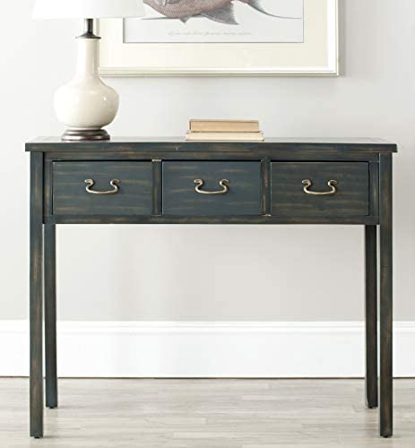 Safavieh American Homes Collection Cindy Steel Teal Console Table