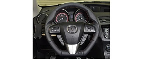 Amazon.com: CORKSPORT 2010-2013 Mazdaspeed 3, 2010-2013 Mazda 3 - Performance Leather Steering Wheel - Black (AXL-9-342-10): Automotive