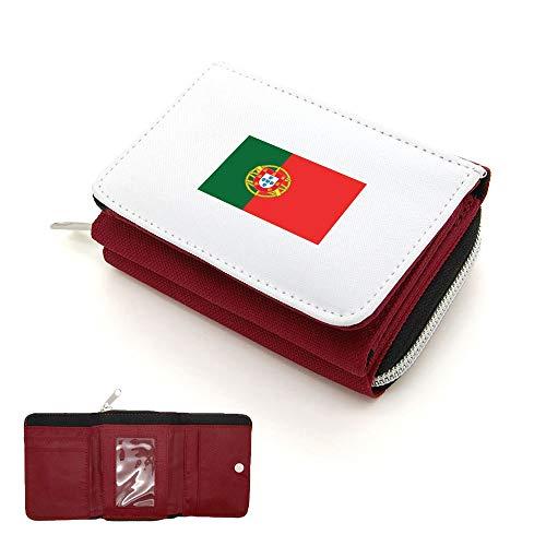 Portefeuille monnaie Portugal Rouge Drapeau À Rabat Porte Mygoodprice ARaP4qAd