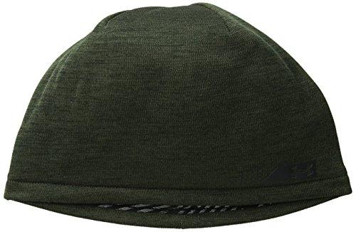 Under Armour Men's ColdGear Infrared Storm Golf Beanie, Artillery Green (357)/Black, One Size