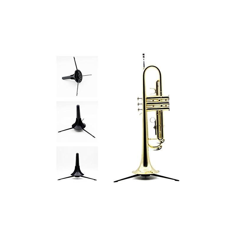Andoer Trumpet Holder Tripod Stand Metal