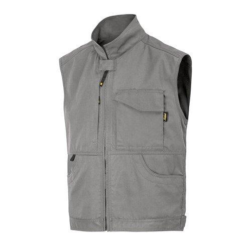 Snickers Workwear Service Weste, Größe XS, grau