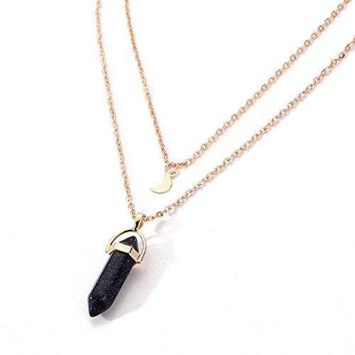 girocollo collana irregolari di Fittingran Offerte cristallo opale ciondolo liquidazione Ml regalo Z8Uwnpq4x
