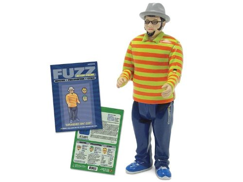 Fuzz the Hipster Action Figure