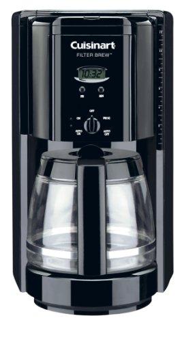 Cuisinart DCC 1000BK Filter Programmable Coffeemaker