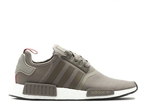 Adidas Nmd_r1 Herenmode-sneakers S81881 Tech Earth, Tech Earth, White