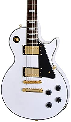 Epiphone Les Paul Custom Pro Electric Guitar with ProBuckers and Coil Tapping