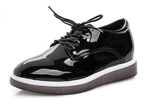 Panecillo Mujeres Redondas Ms Elevador Escoge Retro Los De Zapatos Las Ms Estudiante Spring Casuales Del Corteza Gruesos HaSqWa84
