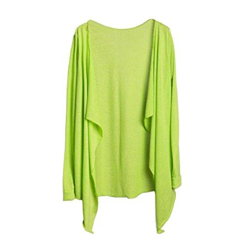 K Cardigan Blend Femme solide En Ample Manteau Femme Chemisier Kimono Femmes Koly Tops Coton Casual Kimono Gilet qvSwva6