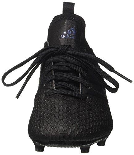 adidas Jungen Ace 17.3 FG J Fußballschuhe, Weiß Schwarz (Core Black)
