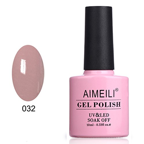 AIMEILI Soak Off UV LED Gel Nail Polish - Eur So Chic (032) 10ml -
