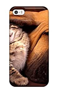 2705111K35748806 Hot PC For Iphone 5C Phone Case Cover Skin - Cat And Dog