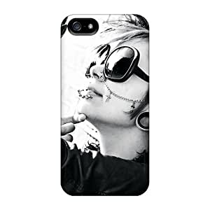 Tpu Fashionable Design Stylish Girl Rugged Case Cover For Iphone 5/5s New