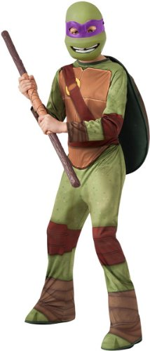 Teenage Mutant Ninja Turtles Donatello Costume, Large (Best Haloween Costumes)
