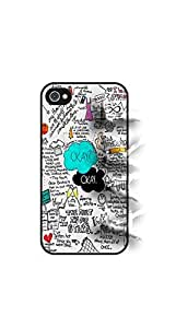 Fault in our Stars Apple iPhone 4 4S V0.1 Case Cover Hard Shell - Black Case - AArt