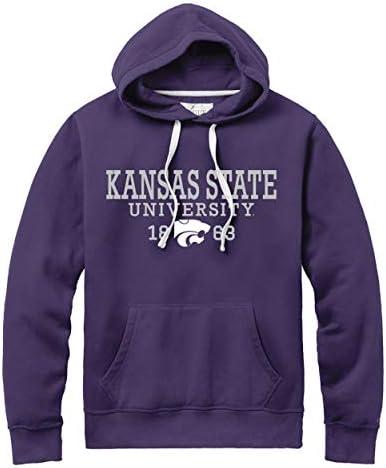NCAA Herren Kapuze, Motiv League Stadion, Herren, Stadium Hood, Violett (New Purple), Large