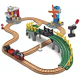 GeoTrax Working Town Train Railway Playset