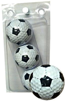 GBM Golf Sport Novelty 3 Ball Sleeve, Soccer