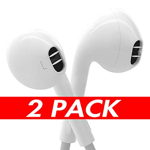 Ipod Nano Mic - Earbuds, ONCON In Ear Headphones with Mic Microphone Remote for iPhone 6s 6 Plus 5s 5 SE 5c 4s 4 iPad iPod 1 2 3 7 7s 8 9 X Earbuds IOS Earphones In Ear Earbuds