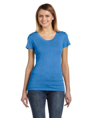 (Bella womens Triblend Short-Sleeve T-Shirt(B8413)-TRUE ROYAL TRBLN-XL )