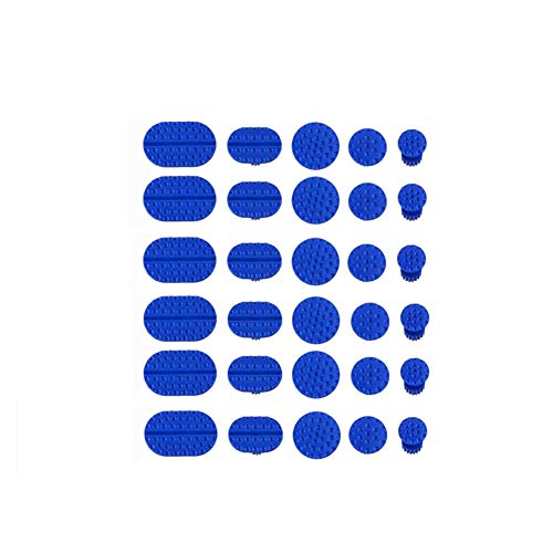 UMFun 30pcs Car Body Dent Removal Pulling Tabs Paintless Repair Tools Glue Puller Tabs Blue from UMFun