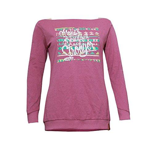 Miaoli Manches À Longues old T shirt Violet Femme Abk Violet Xl Tee 7nOdqXU