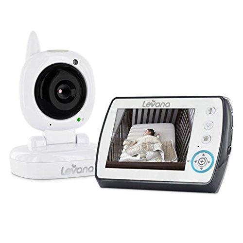 "Levana Ayden 3.5"" Digital Video Baby Monitor with Night Vision Camera"