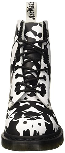 Backhand Dr Adulto Scarpe Brogue Basse Stringate Martens – black white Pascal Unisex Multicolore 6CqxwEC
