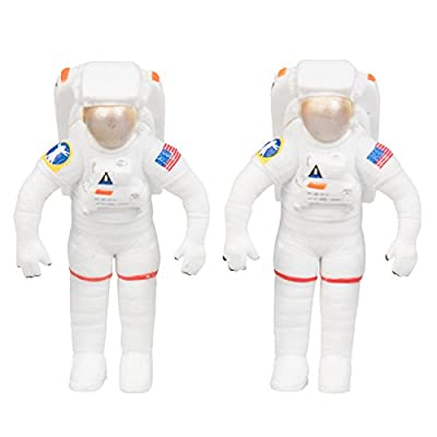 Space Shuttle And Toy Rocket Ship Set - 10 Piece Complex 39 Launch Site with Astronauts, Rockets, Space Shuttle, and Ground Vehicle - Measures 15