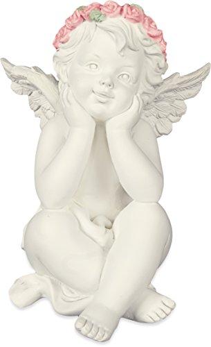 - AngelStar 19273 Thoughtful Cherub Angel Figurine, 4-1/4-Inch