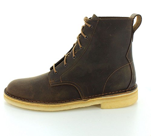 Clarks Mens Desert Mali Boots in Beeswax