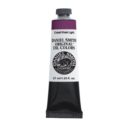 - Daniel Smith Original Oil Color 37ml Paint Tube, Cobalt Violet Light