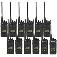 12 Pack of Motorola RDU4160D Two way Radio Walkie Talkies