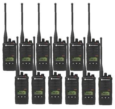 12 Pack of Motorola RDU4160D Two way Radio Walkie Talkies by Motorola