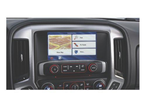 OEM Enhanced Electronics - OEM Factory Integrated Navigation System for Select GMC/Chevy/Buick Models - (OEM-GM-NAV)