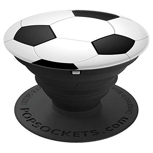Soccer Ball Pop Socket Pattern Boys Girls - PopSockets Grip and Stand for Phones and Tablets