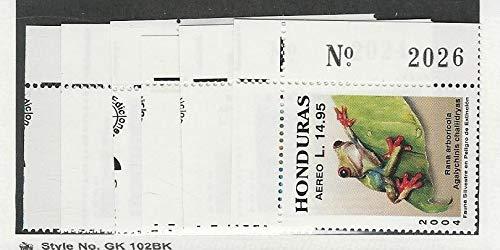 (Honduras, Postage Stamp, C1159//C1167 Mint NH, 2004 Animals, JFZ)