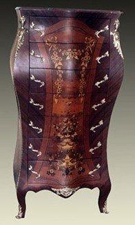 Barock Kommode Rokoko Antik Stil Louis XV MoBdNoLu07629