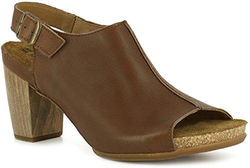 N5022 Dolce Cuero/KUNA Leather Woman 39 Sandals Elastic weNhoA