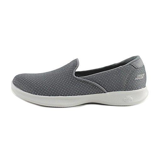 Skechers Go Step Lite Slip-ons - Donna - Carboncino, 6