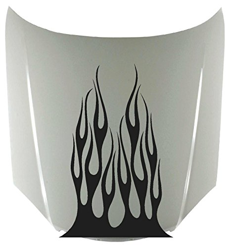 Tribal Flame Fire Car Decals Hood Decal Vinyl Sticker Auto Decor Graphic Kit Aftermarket Stickers HF10 Flame Hood