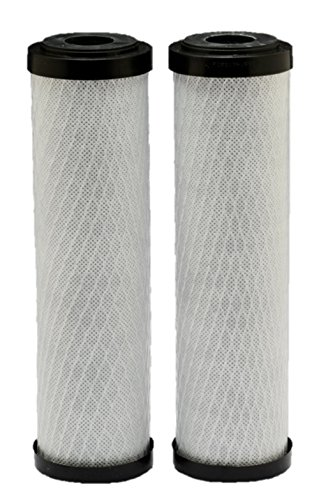 2pk Water Filter Cartridge - Whirlpool WHA2BF5 Standard Capacity Carbon Block Whole Home Water Filter - 2 Pack