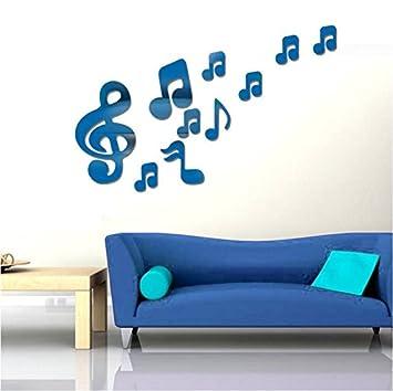 Nuevo acrílico, espejo, música, pared, música, aula, dormitorio ...