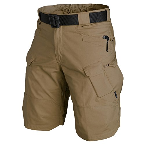 URBAN TACTICAL SHORTS® - PolyCotton Ripstop - Coyote (L)